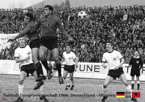 Germany-Albania 1968