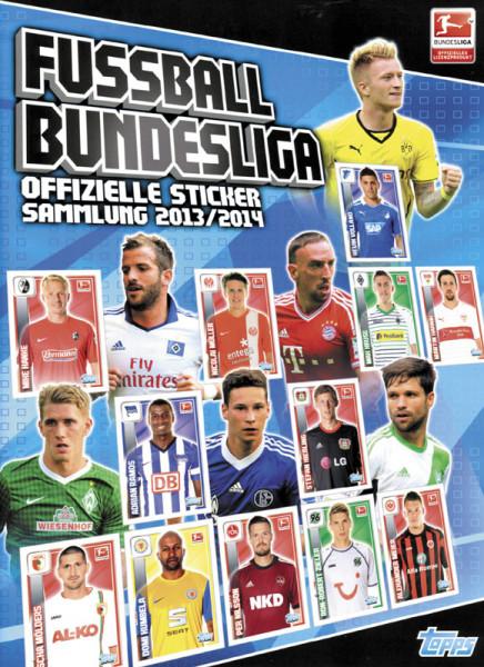 Fußball Bundesliga. Offizielle Stickersammlung 2013/14.