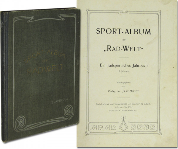 Ein radsportliches Jahrbuch. II.Jahrgang. (1902)