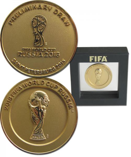 Auslosung WM 2018 Teilnehmermedaille, Teilnehmermedaille WM2018
