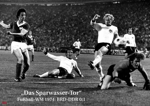 The goal of Sparwasser World Cup 1974
