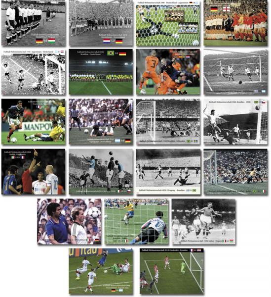 Die WM-Finalbegegnungen