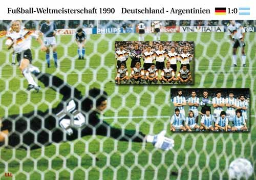 Germany-Argentina 1990