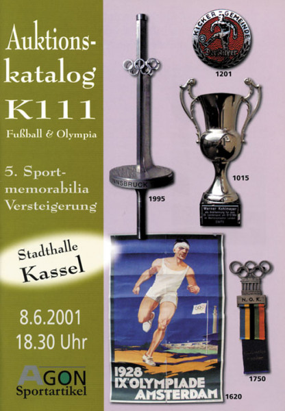 5. AGON Auktion: Auktions-Katalog: SportMemorabilia Live Kassel