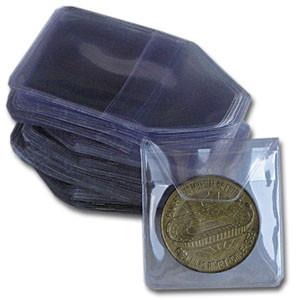 Münzen-Hüllen 50x50 mm
