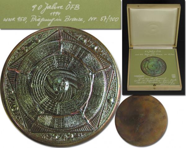 Gedenkmedaille 90 Jahre ÖFB 1994, Österreich - Medaille 94