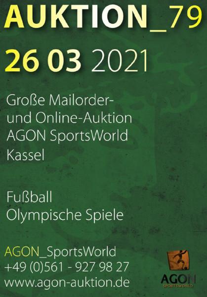 79. AGON Auktion: Auktions-Katalog: 79th AGON Live Auction Catalogue.