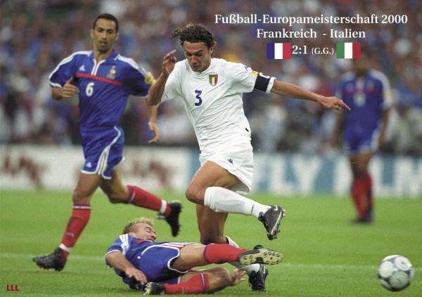 Frankreich - Italien 2000
