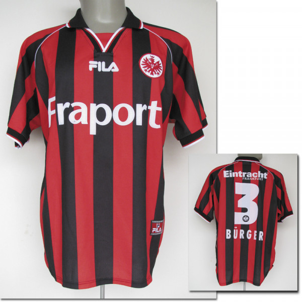 match worn football shirt Eintr. Frankfurt 2002
