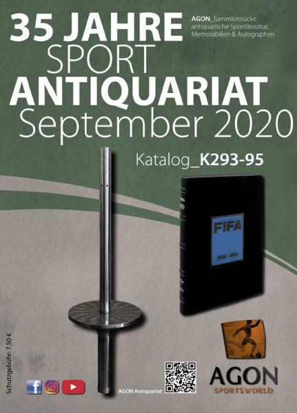 Sammlerstücke: Antiquariatskatalog Herbst 2020