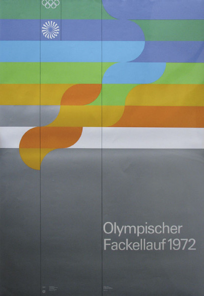 Olympic Games Munich 1972. Official Poster