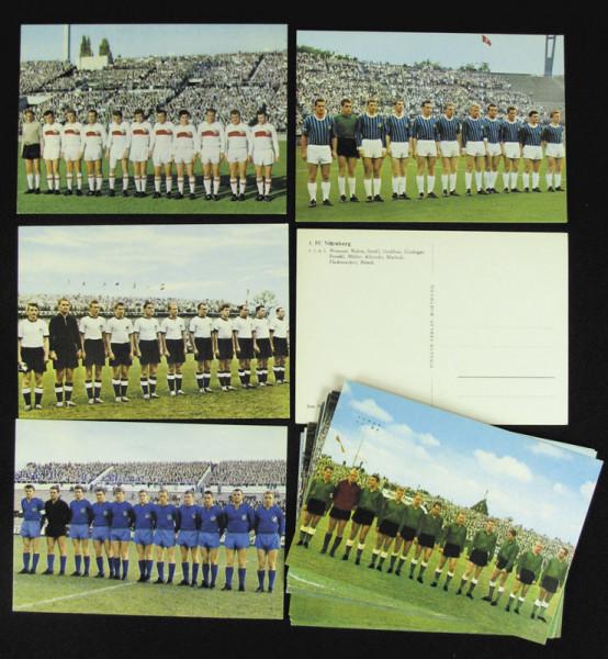 17 German Football Collector Cards 1963 - 1964