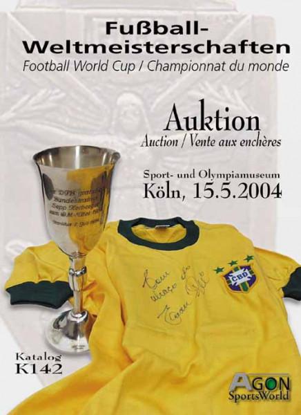 19. AGON Auktion: Auktions-Katalog: SportMemorabilia WM 1954