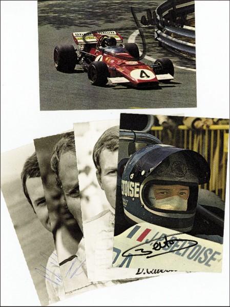Ickx, Jackie: Formula 1 autograph