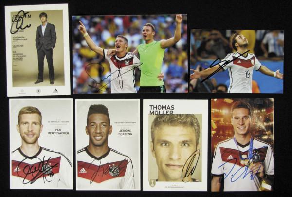Weltmeister 2014: German Football Autograph World Cup 2014