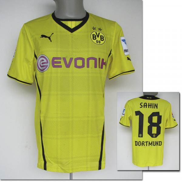 match worn footb. shirt Borussia Dortmund 2013/14