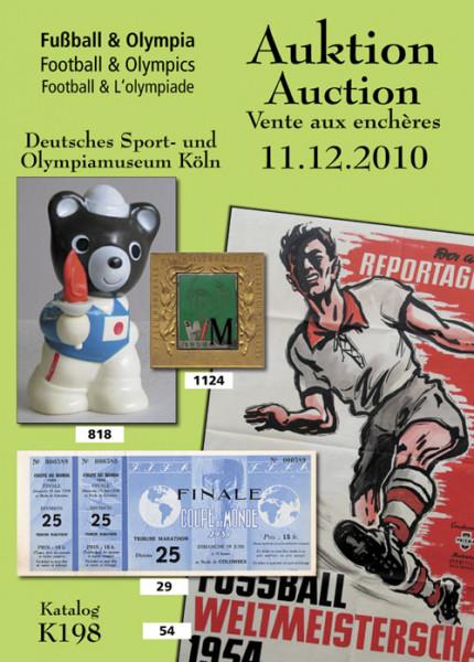 40. AGON Auktion: Auktions-Katalog: SportMemorabilia Live Köln