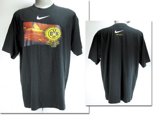 worn football T-shirt Borussia Dortmund 1997