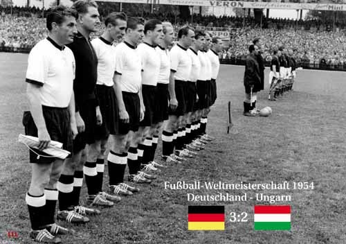 Germany-Hungary 1954