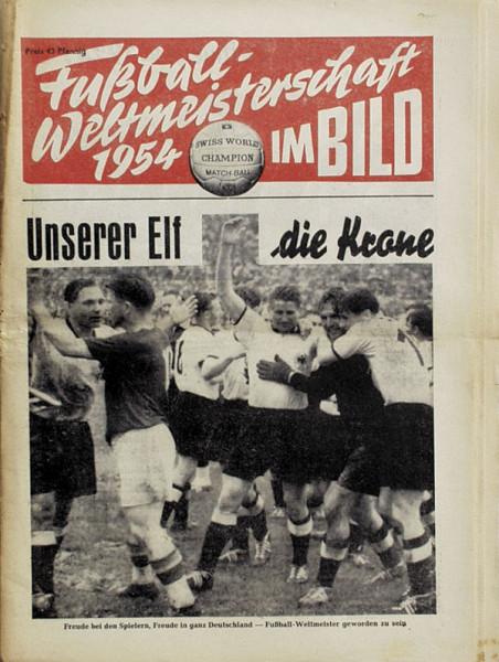World Cup 1954. German Football Magazin. Report