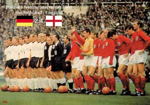 England-Germany 1966