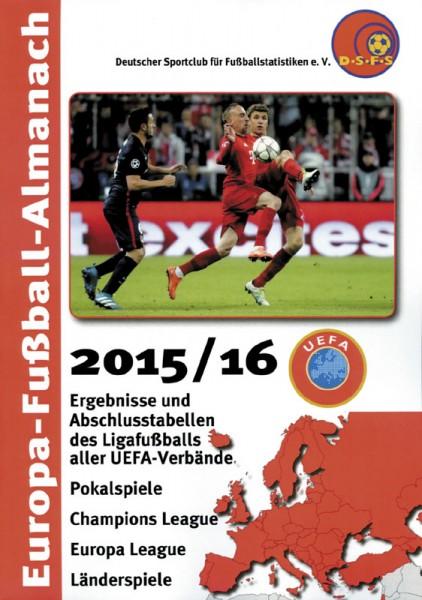 European Football Almanac 2015/16