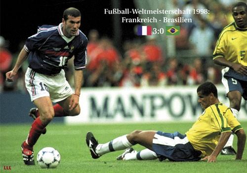 Frankreich-Brasilien 1998