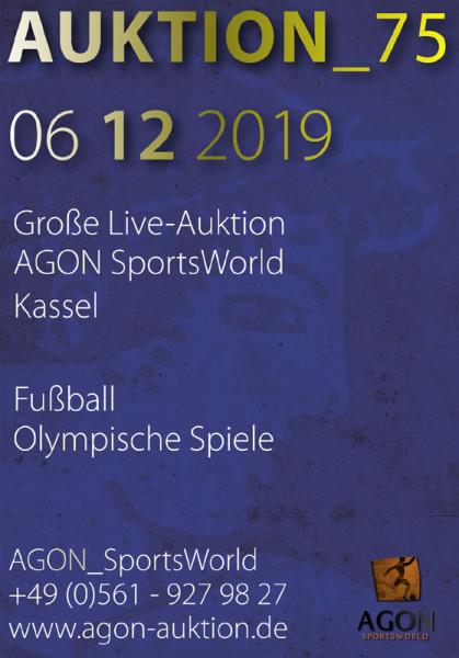 75. AGON Auktion: Auktions-Katalog: SportMemorabilia Live in Kassel