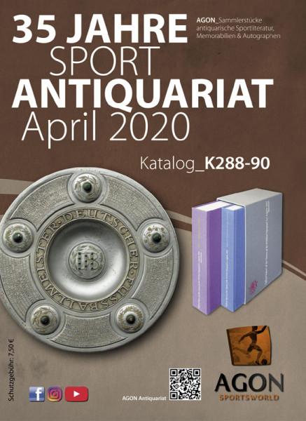 Sammlerstücke: Antiquariatskatalog Frühjahr 2020