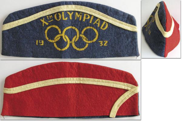X. Olympische Spiele Los Angeles, Mütze OSS1932