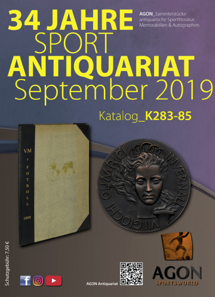 Sammlerstücke: Antiquariatskatalog Herbst 2019