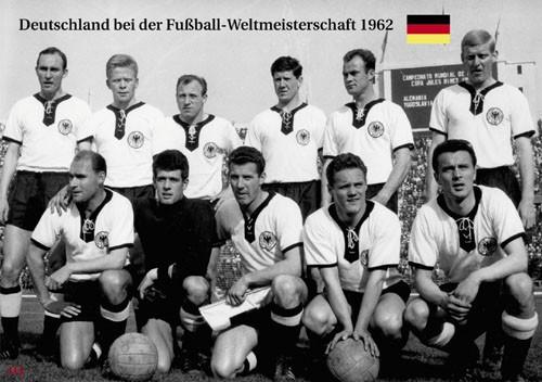 Germany bei der World Cup 1962