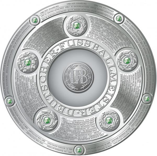 DFB Meisterschale 2018 (15 cm), Meisterschale Nachbildung