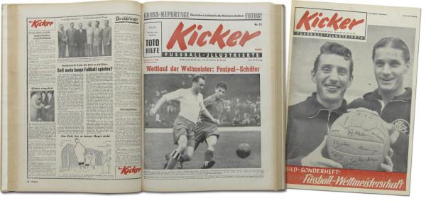 Kicker 1954 : Jg.: Nr.1-52 komplett