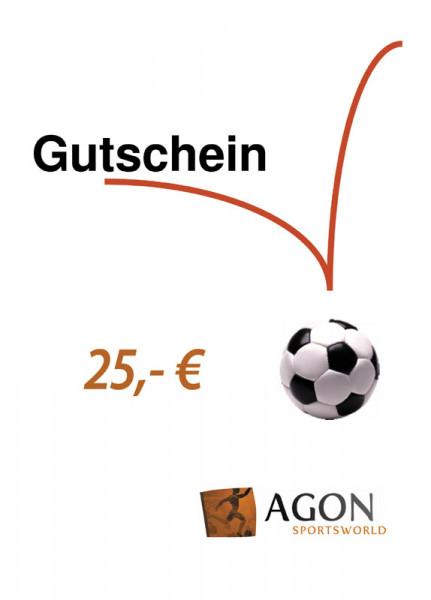 AGON Gutschein im Wert von 25,- €