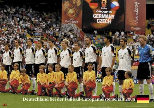 Deutschland bei der EM 2004