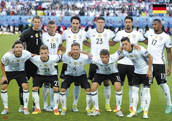 Deutschland bei der EM 2016
