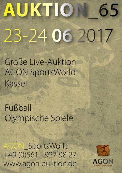 65. AGON Auktion: Auktions-Katalog: SportMemorabilia Live in Kassel