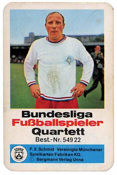 Bundesliga Fußballspieler., Kartenspiel 54922