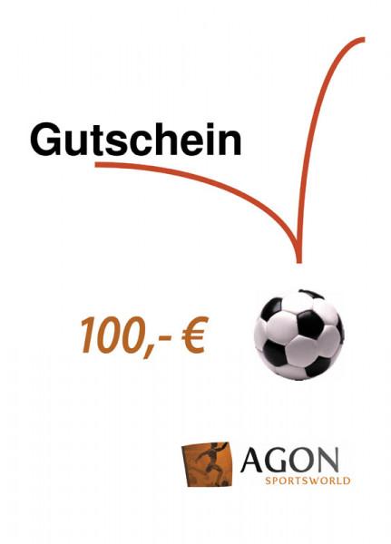 AGON Gutschein im Wert von 100,- €
