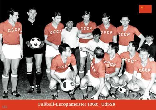 Fußball-Europameister 1960