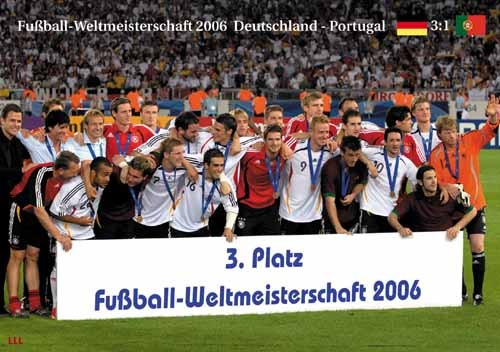 Germany 3rd place World Cup 2006