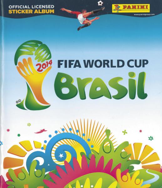World Cup 2014. Panini Sticker Album