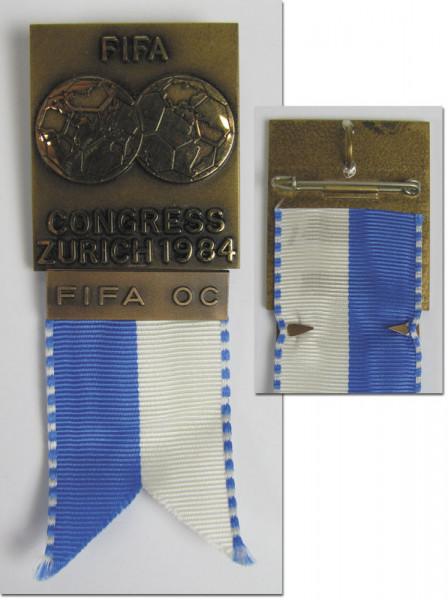 FIFA Congress Zurich 1984. FIFA OC, FIFA-Kongress 1984