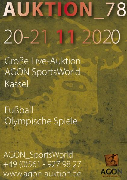 78. AGON Auktion: Auktions-Katalog: SportMemorabilia Live in Kassel