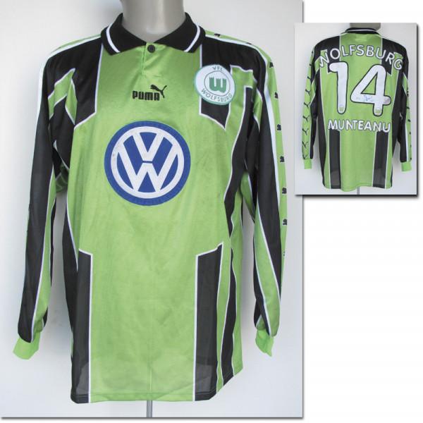 match worn football shirt VfL Wolfsburg 1999/00