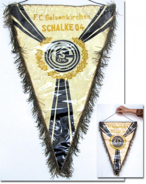 Schalke 04 Football match pennant 1958