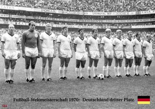 Germany 3rd place World Cup 1970