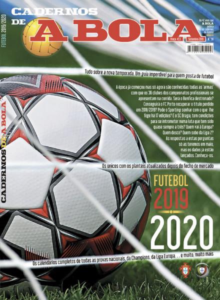 Cadernos A Bola Futebol 2019-2020